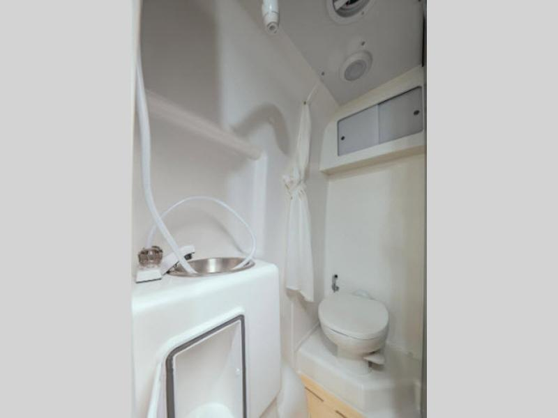 2020 winnebago travato review bathroom