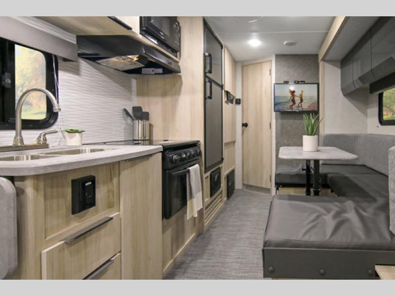 hike travel trailer kitchen